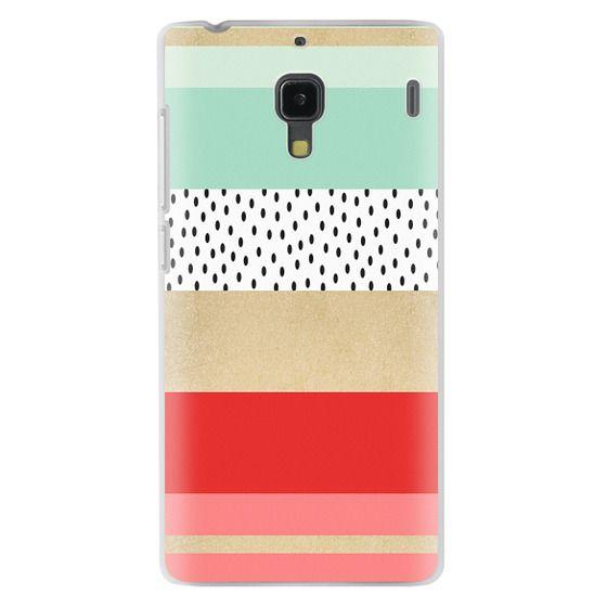 Redmi 1s Cases - Summer Fresh Stripes By Elisabeth Fredriksson