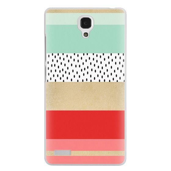 Redmi Note Cases - Summer Fresh Stripes By Elisabeth Fredriksson