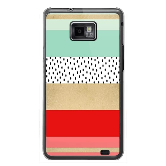 Samsung Galaxy S2 Cases - Summer Fresh Stripes By Elisabeth Fredriksson