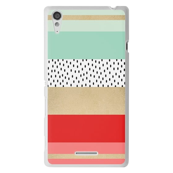 Sony T3 Cases - Summer Fresh Stripes By Elisabeth Fredriksson