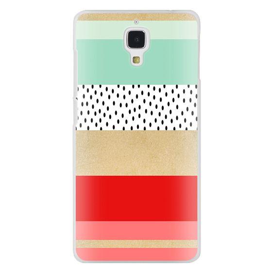 Xiaomi 4 Cases - Summer Fresh Stripes By Elisabeth Fredriksson