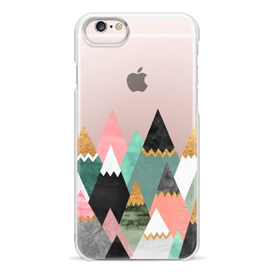 iPhone 6s Cases - Pretty Mountains / Transparent