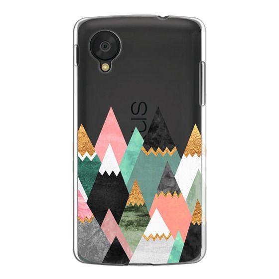 Nexus 5 Cases - Pretty Mountains / Transparent