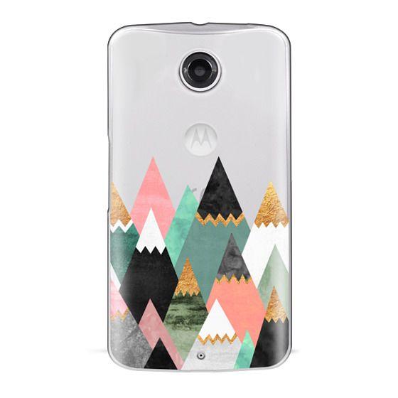 Nexus 6 Cases - Pretty Mountains / Transparent