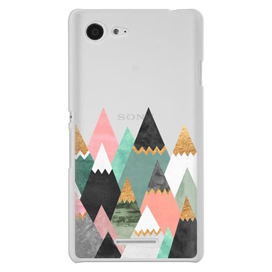 Sony E3 Cases - Pretty Mountains / Transparent