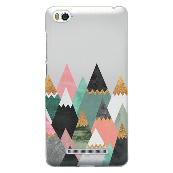 Xiaomi 4i Cases - Pretty Mountains / Transparent