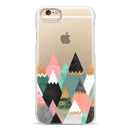 iPhone 6 Cases - Pretty Mountains / Transparent