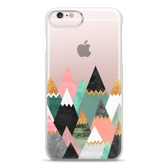 iPhone 6s Plus Cases - Pretty Mountains / Transparent