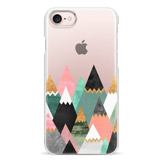 iPhone 7 Cases - Pretty Mountains / Transparent