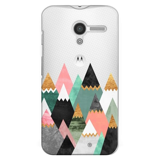 Moto X Cases - Pretty Mountains / Transparent