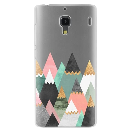 Redmi 1s Cases - Pretty Mountains / Transparent