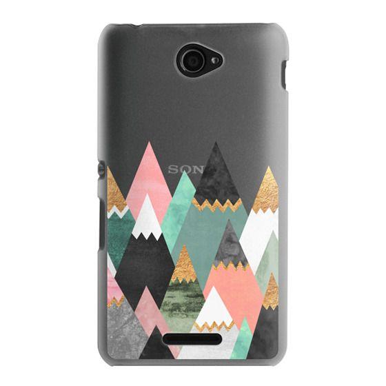 Sony E4 Cases - Pretty Mountains / Transparent