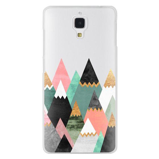 Xiaomi 4 Cases - Pretty Mountains / Transparent