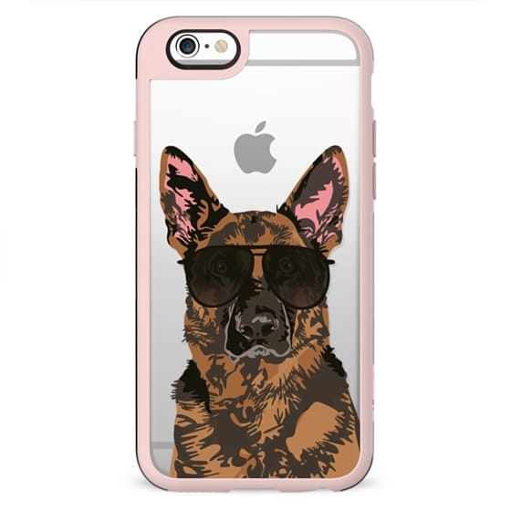 Cool German Shepherd IPhone Clear Case