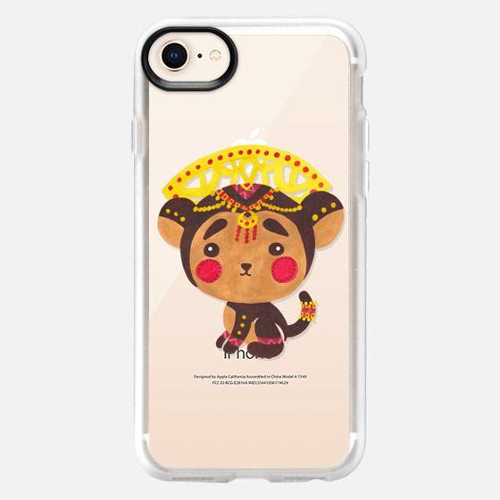 The Little Monkey King (Transparent) - Snap Case