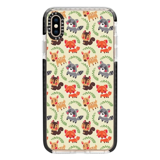 iPhone XS Max Cases - The Forest Friend Pattern