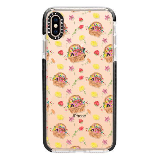 iPhone XS Max Cases - La Fleur Pattern