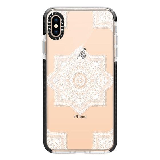 iPhone XS Max Cases - Ethnic Moroccan Motif