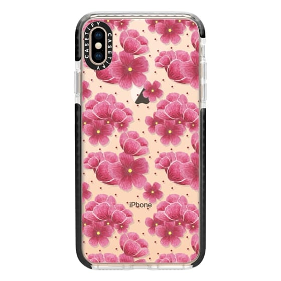 iPhone XS Max Cases - Sakura Spring Pattern