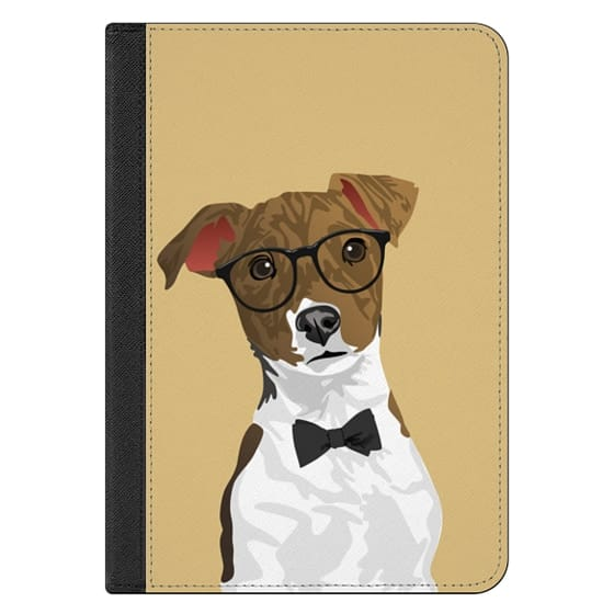 iPad Mini 4 Covers - Hipster Russell Terrier Dog iPad Case for Dog Lovers