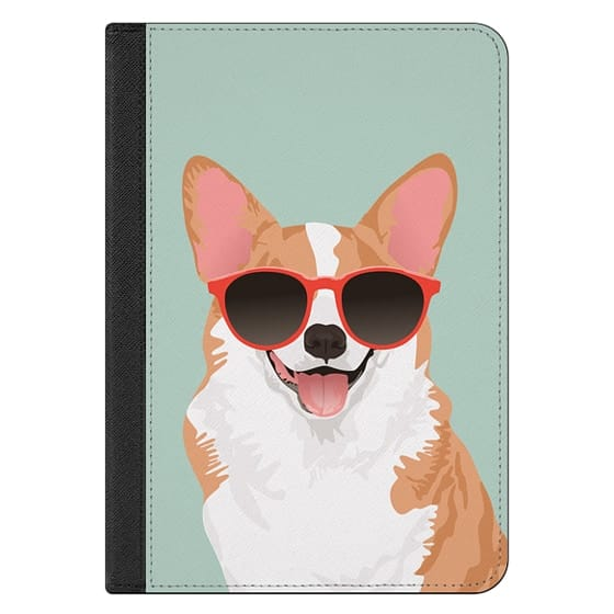 iPad Mini 4 Covers - Cute Smiling Pembroke Welsh Corgi iPad Case