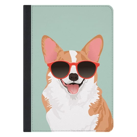 10.5-inch iPad Pro Covers - Cute Smiling Pembroke Welsh Corgi iPad Case