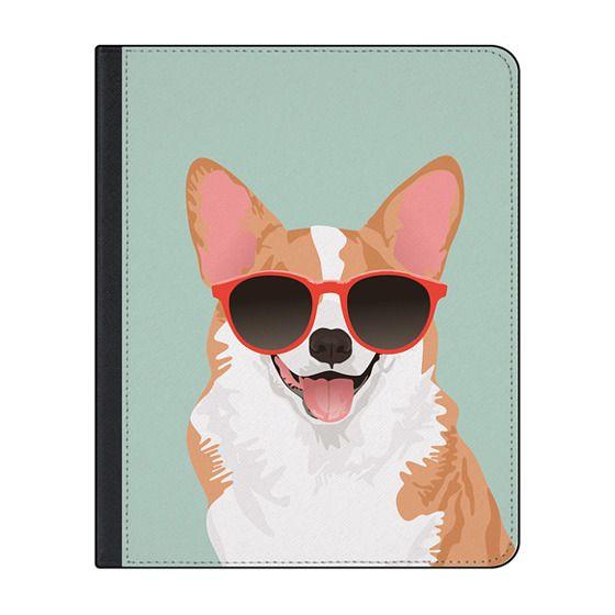 12.9-inch iPad Pro (2018) Covers - Cute Smiling Pembroke Welsh Corgi iPad Case