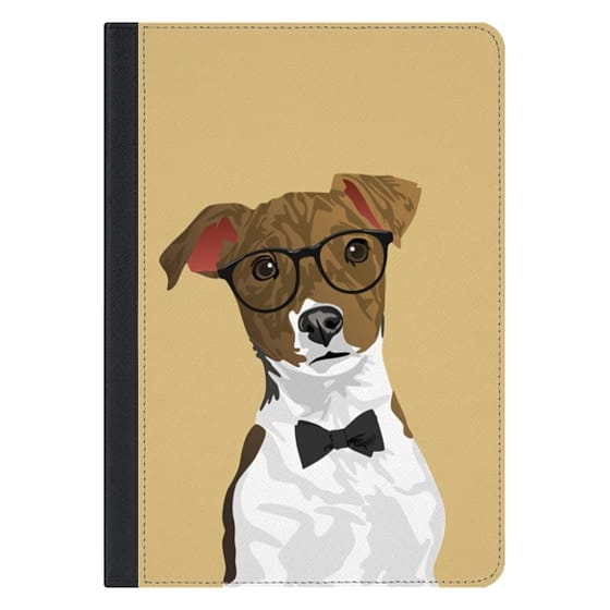 10.5-inch iPad Pro Covers - Hipster Russell Terrier Dog iPad Case for Dog Lovers