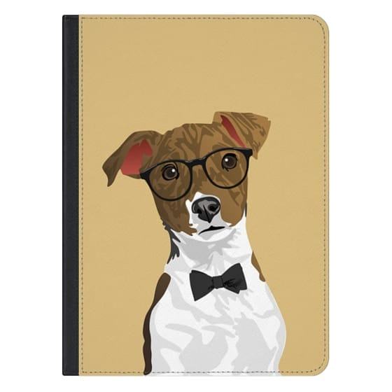 12.9-inch iPad Pro Covers - Hipster Russell Terrier Dog iPad Case for Dog Lovers