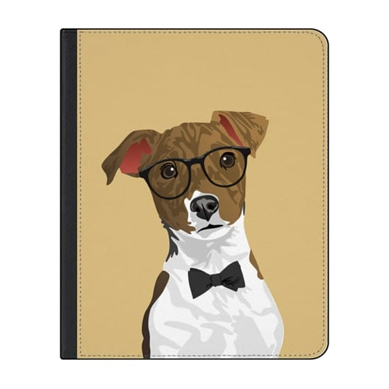 12.9-inch iPad Pro (2018) Covers - Hipster Russell Terrier Dog iPad Case for Dog Lovers