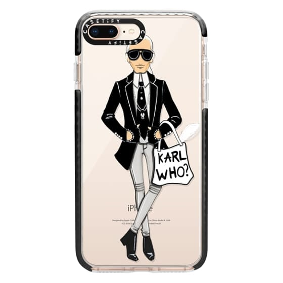 iPhone 8 Plus Cases - Karl Who