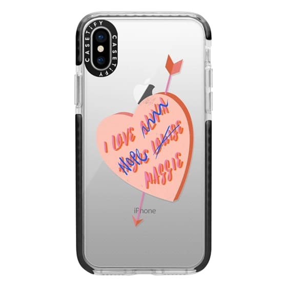 iPhone XS Cases - I Love You Girl