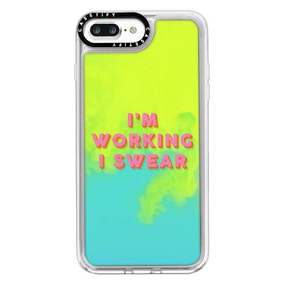iPhone 7 Plus Cases - I'm Working I Swear
