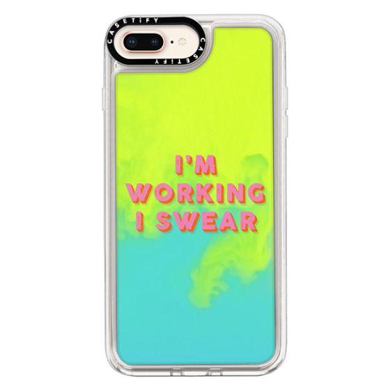 iPhone 8 Plus Cases - I'm Working I Swear