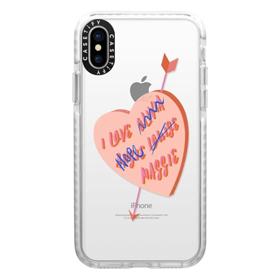 iPhone X Cases - I Love You Girl