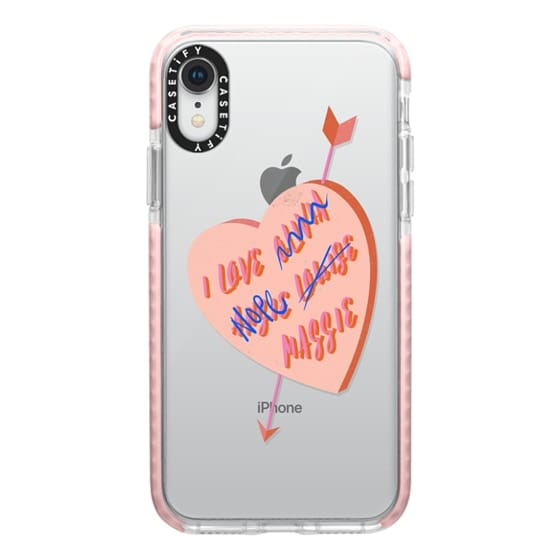 iPhone XR Cases - I Love You Girl