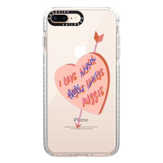 iPhone 8 Plus Cases - I Love You Girl