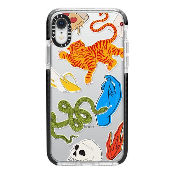 iPhone XR Cases - Tattoo Teddy