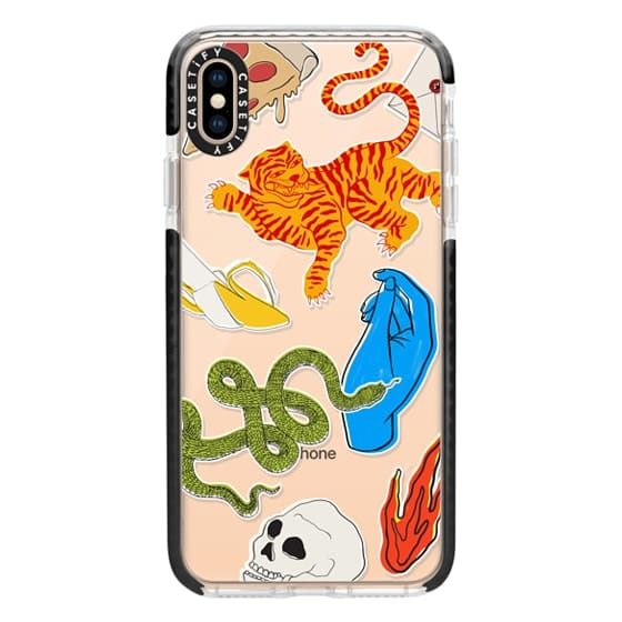 iPhone XS Max Cases - Tattoo Teddy