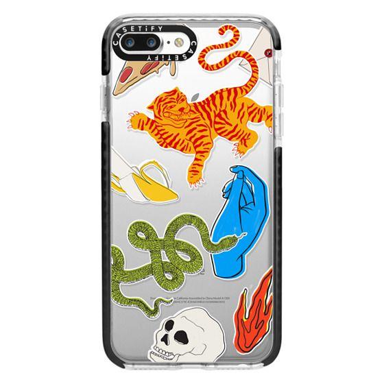 iPhone 7 Plus Cases - Tattoo Teddy