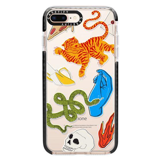 iPhone 8 Plus Cases - Tattoo Teddy