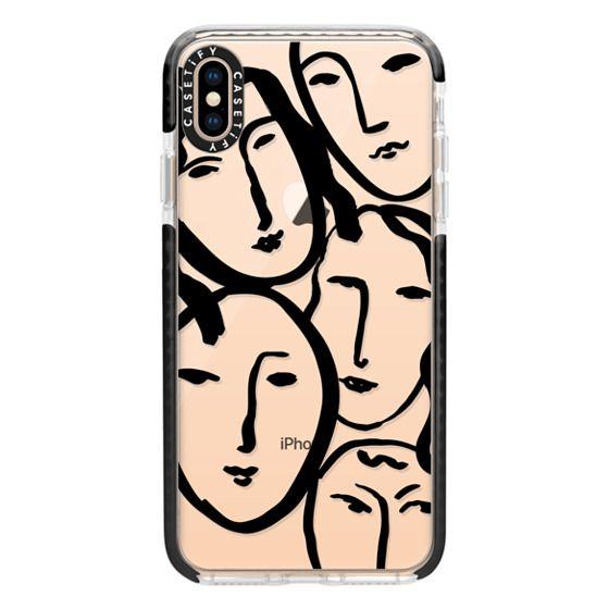 iPhone XS Max Cases - Liney Ladies II