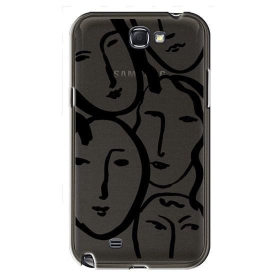 Samsung Galaxy Note2 Cases - Liney Ladies II