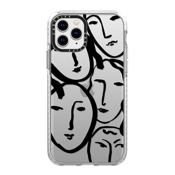 iPhone 11 Pro Cases - Liney Ladies II