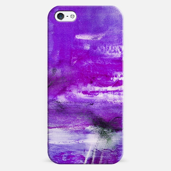 abstract purple - Classic Snap Case