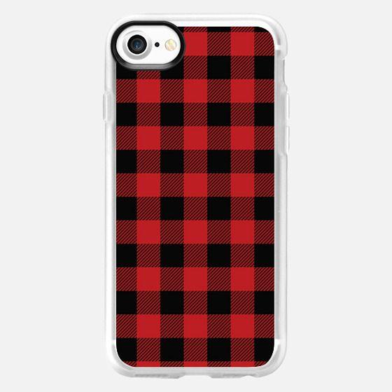 Lumberjack Plaid Pattern -