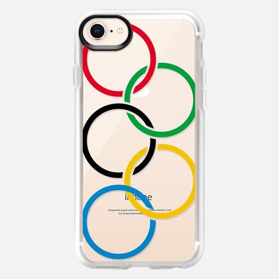 Olympic Rings Semi-Transparent - Snap Case