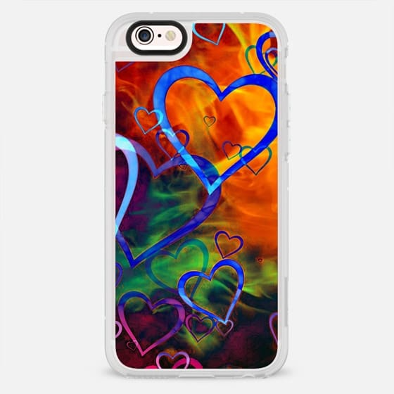 Rainbow Hearts - New Standard Case