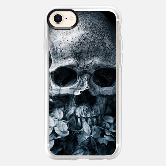 Skull Flowers II - Snap Case