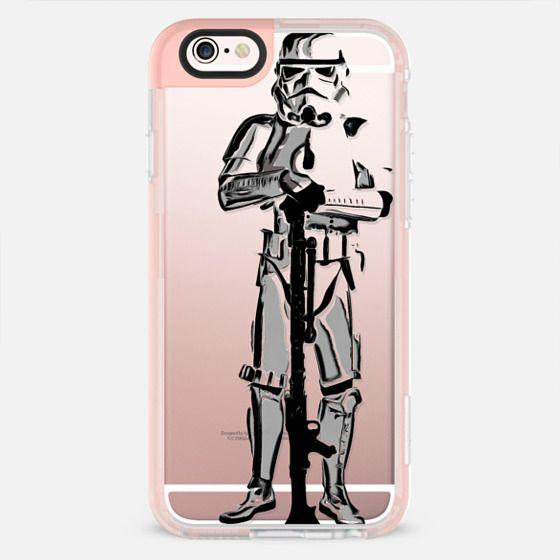 Space Trooper Semi-Transparent -